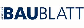 Das Deutsche Baublatt ist die auflagenstarke Fachzeitung für Bauunternehmer, Führungskräfte und Entscheider der Bauwirtschaft, der Gewinnungsindustrie und von Baubehörden.