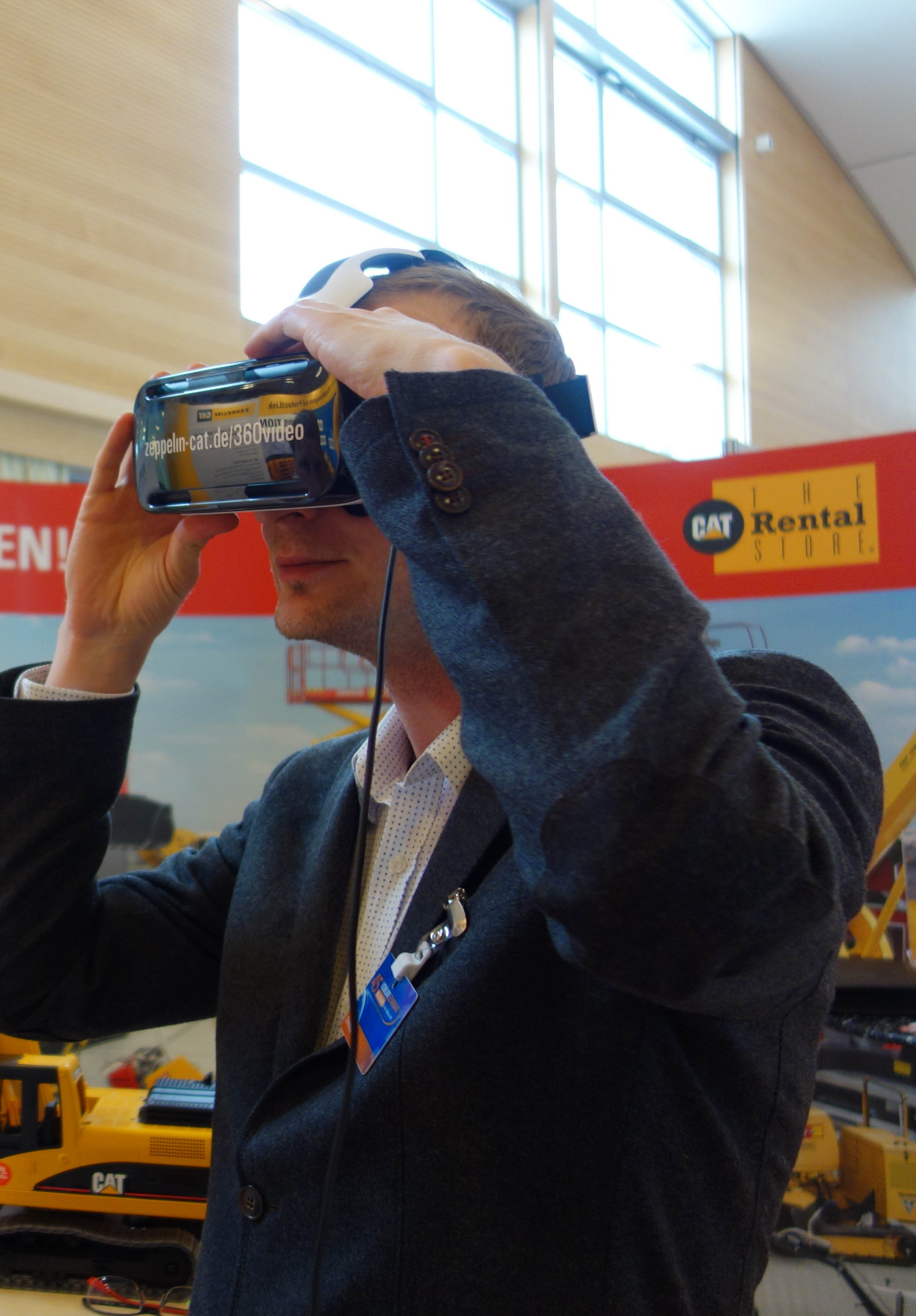 Eintauchen in 3D-Welten